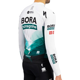 Sportful Team Bora-HG Bodyfit Thermal Long Sleeve Jersey Men, green gray